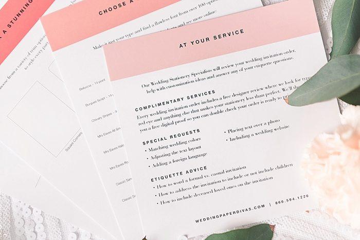 5 Wedding Paper Divas Sample Kits (11)