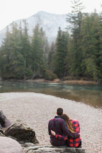 6 Glacier National Park Engagement | Joni Bilderback Photography | Via MountainsideBride.com