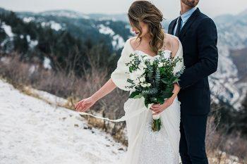 6 LookOut Mountain Colorado Bridal Shoot   Kyle Loves Tori Photography   Via MountainsideBride.com