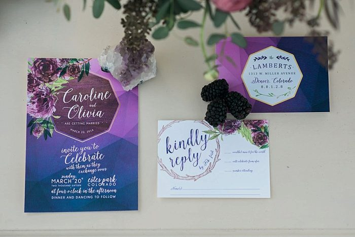 7 Colorado Same Sex Boho Wedding Inspiration | Katie Keighin Photography |via MountainsideBride.com