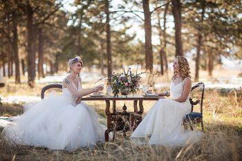 9 Colorado Same Sex Boho Wedding Inspiration   Katie Keighin Photography  via MountainsideBride.com