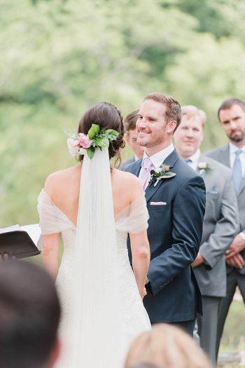 17 Ceremony 2 Sunshower Photography Via MountainsideBride.com