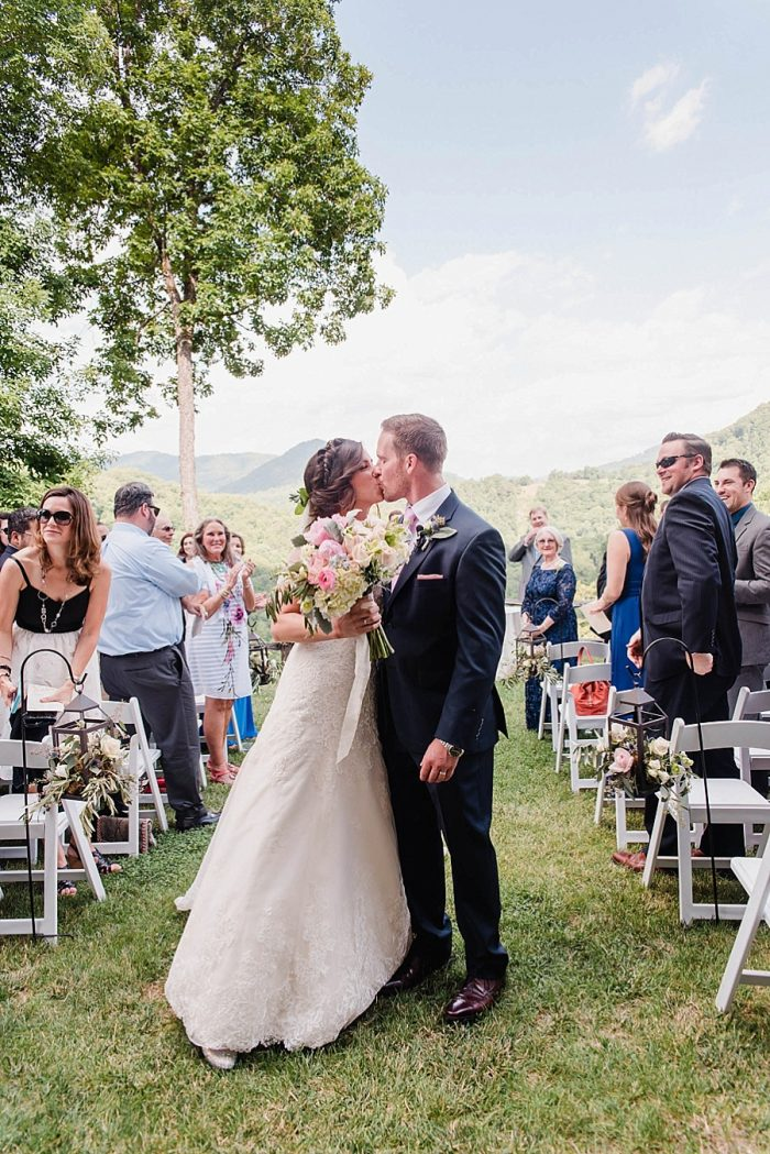 19 Recessional 1 Sunshower Photography Via MountainsideBride.com