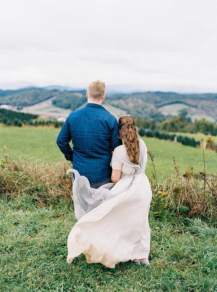 19 Simple Elk Knob Wedding North Carolina Rachael McIntosh Photography Via MountainsideBride