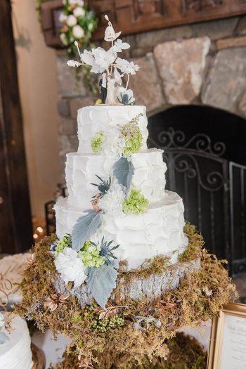 29 Cake 1 Sunshower Photography Via MountainsideBride.com