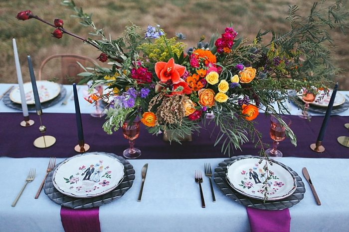 3 Blue Ridge Mountain Fol Inspration | Jordan Brannock Photography | Via MountainsideBride.com