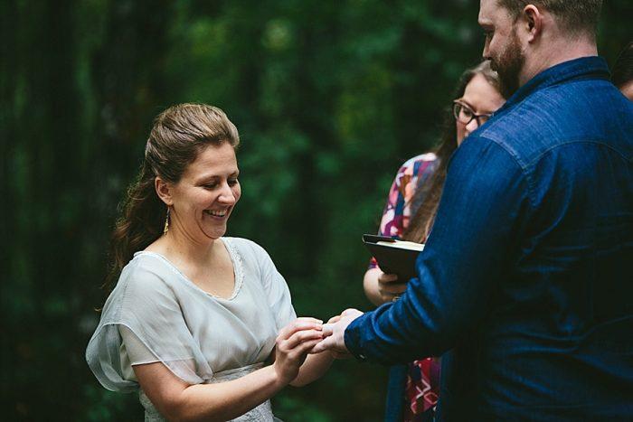 9 Simple Elk Knob Wedding North Carolina Rachael McIntosh Photography Via MountainsideBride