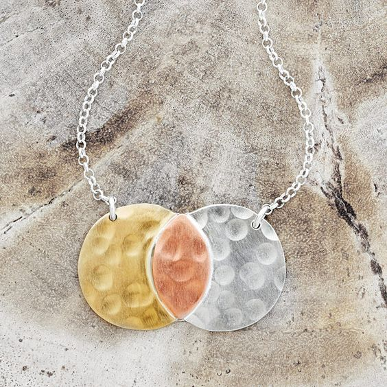 Me And You Venn Necklace