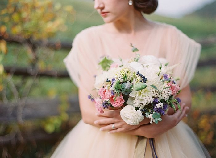 1 Alleghany Mountains Old Dairy Farm Wedding Inspiration Natural Retreats Via MountainsideBride.com