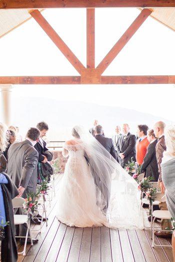 10 Ceremony Lexington VA Spring Wedding Anna Grace Photography Via MountainsideBride.com