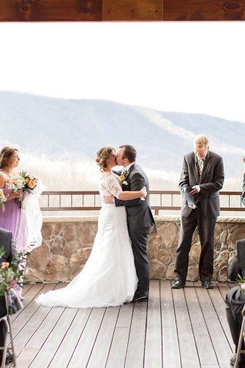 12 Ceremony Lexington VA Spring Wedding Anna Grace Photography Via MountainsideBride.com