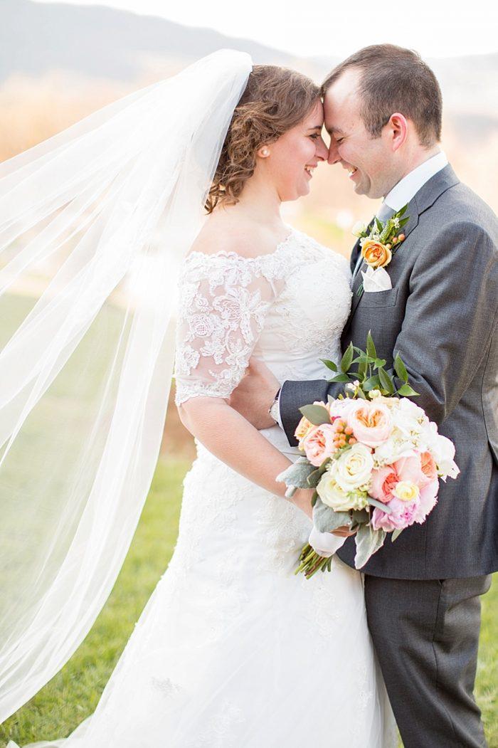 14 Portraits Lexington VA Spring Wedding Anna Grace Photography Via MountainsideBride.com
