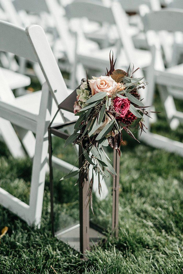 15 Ceremony Detail Vail Autumn Wedding Eric Lundgren Photography Via MountainsideBride.com