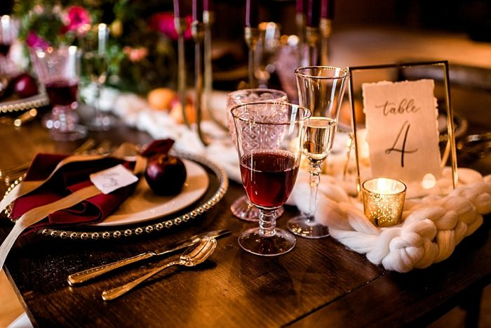 15 White Mountain New Hampshire Winter Wedding Inspiration Jesse Wyman Via MountainsideBride.com