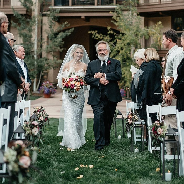 18 Vail Autumn Wedding Eric Lundgren Photography Via MountainsideBride.com Ceremony