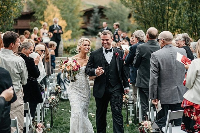 22 Ceremony Vail Autumn Wedding Eric Lundgren Photography Via MountainsideBride.com