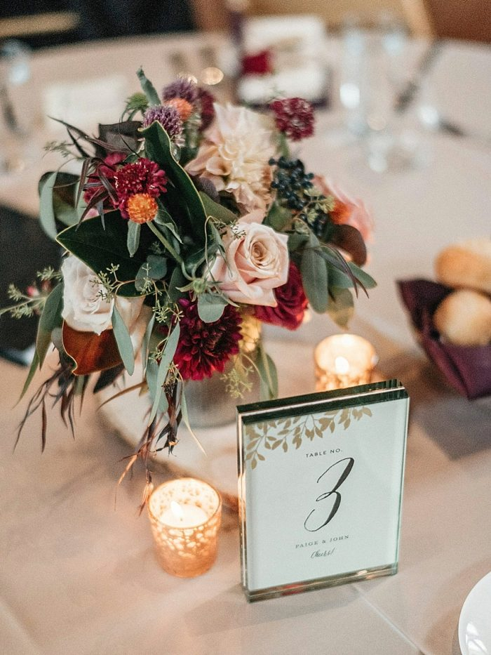 27 Centerpiece Vail Autumn Wedding Eric Lundgren Photography Via MountainsideBride.com