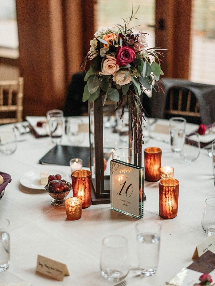 30 Centerpiece Vail Autumn Wedding Eric Lundgren Photography Via MountainsideBride.com