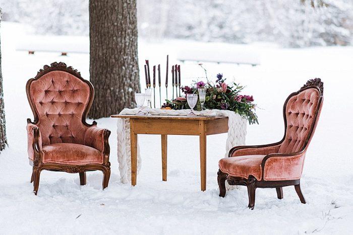 30 White Mountain New Hampshire Winter Wedding Inspiration Jesse Wyman Via MountainsideBride.com