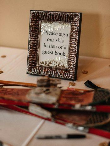 32a Guest Book Vail Autumn Wedding Eric Lundgren Photography Via MountainsideBride.com