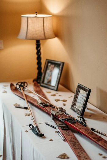 32b Guest Book Vail Autumn Wedding Eric Lundgren Photography Via MountainsideBride.com