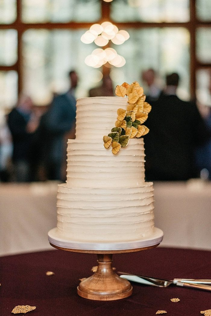 33 Cake Vail Autumn Wedding Eric Lundgren Photography Via MountainsideBride.com
