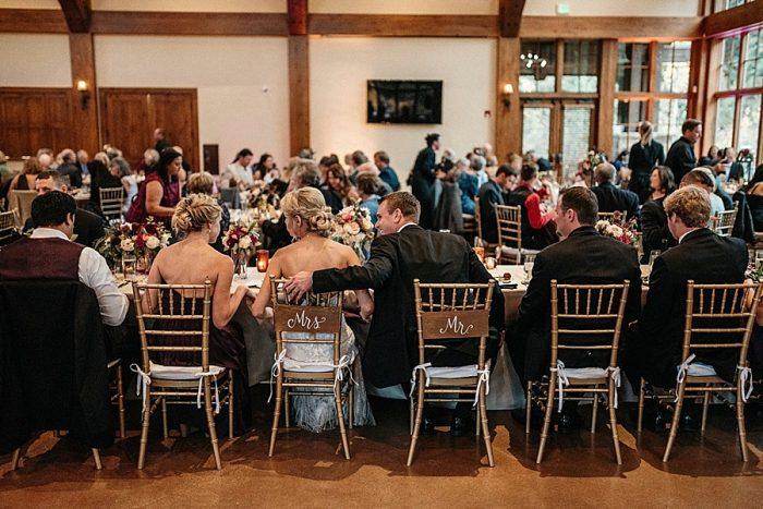 35 Dinner Vail Autumn Wedding Eric Lundgren Photography Via MountainsideBride.com