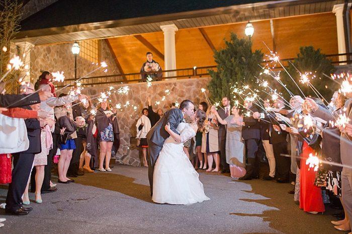 37 Reception Lexington VA Spring Wedding Anna Grace Photography Via MountainsideBride.com