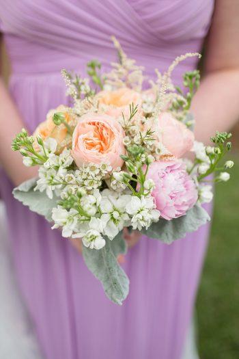 7a Bridal Party Lexington VA Spring Wedding Anna Grace Photography Via MountainsideBride.com