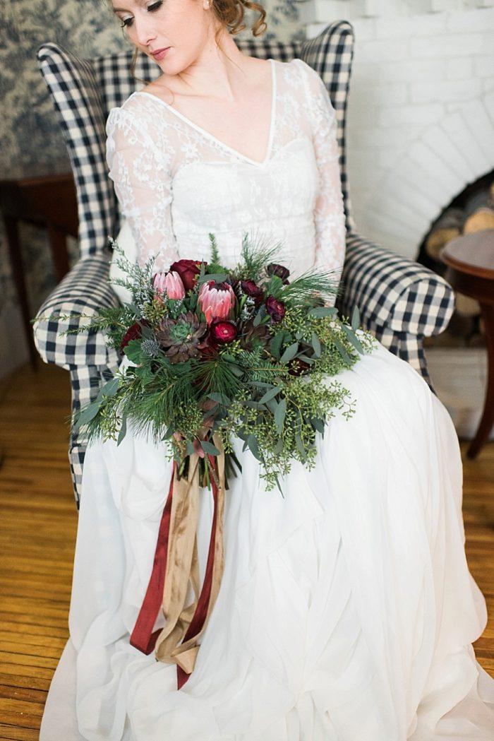 8 White Mountain New Hampshire Winter Wedding Inspiration Jesse Wyman Via MountainsideBride.com