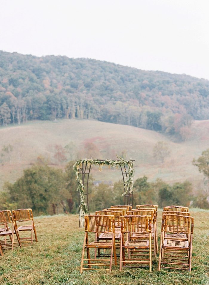 9 Alleghany Mountains Old Dairy Farm Wedding Inspiration Natural Retreats Via MountainsideBride.com