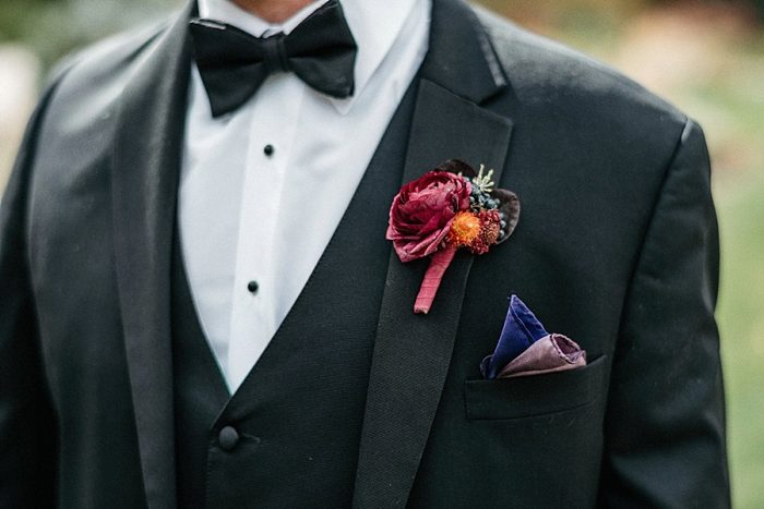 9 Boutonniere Vail Autumn Wedding Eric Lundgren Photography Via MountainsideBride.com
