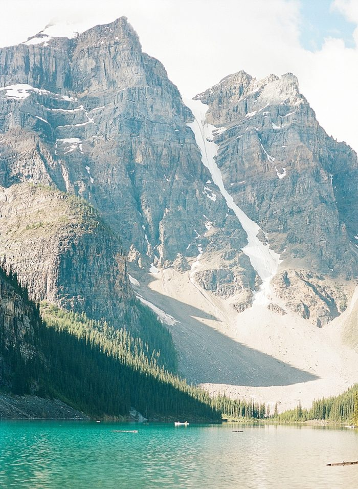 1 Banff National Park Engagement The Ganeys Via MountainsideBride.com