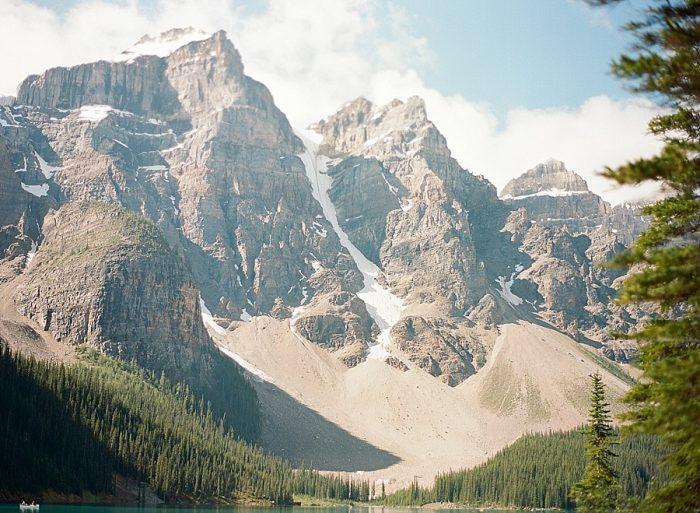 10 Banff National Park Engagement The Ganeys Via MountainsideBride.com