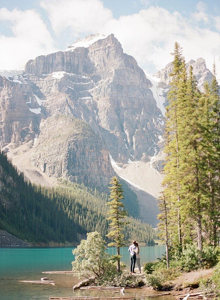12 Banff National Park Engagement The Ganeys Via MountainsideBride.com