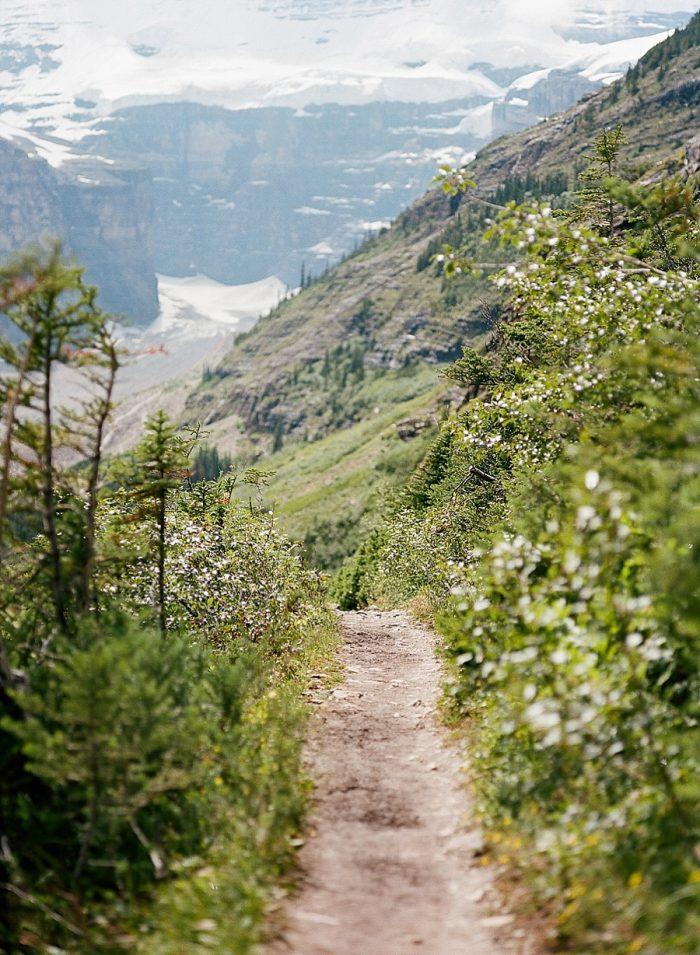 14 Banff National Park Engagement The Ganeys Via MountainsideBride.com
