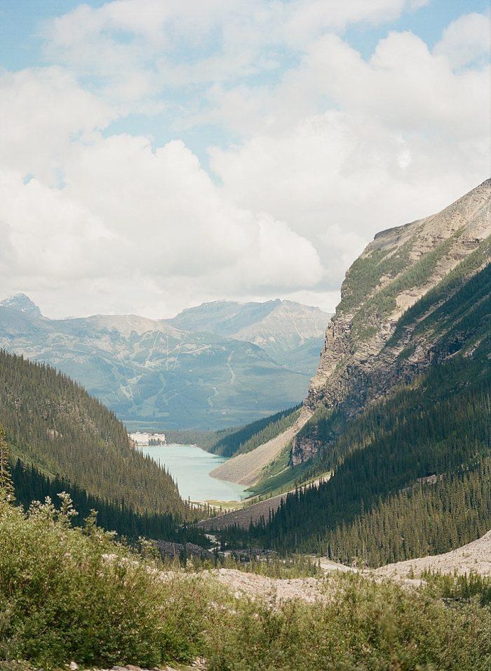 17 Banff National Park Engagement The Ganeys Via MountainsideBride.com
