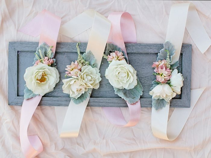 1 Wristbands Silverthorne Colorado Wedding A Vintage Affair Via MountainsideBride.com .