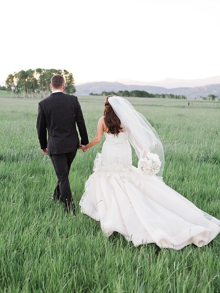 14 Bridegroom Backs Silverthorne Colorado Wedding A Vintage Affair Via MountainsideBride.com