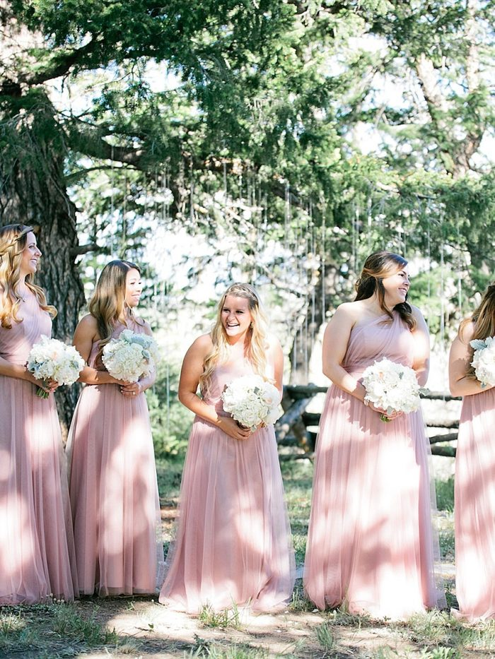 18 Bridal Party Silverthorne Colorado Wedding A Vintage Affair Via MountainsideBride.com