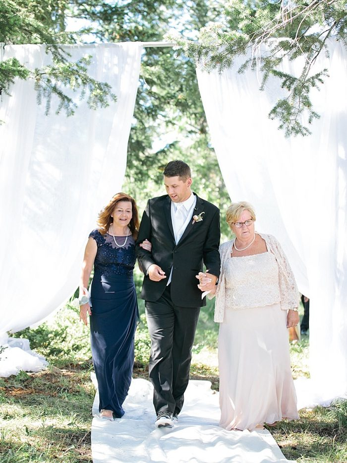 21 Groom Mom Silverthorne Colorado Wedding A Vintage Affair Via MountainsideBride.com