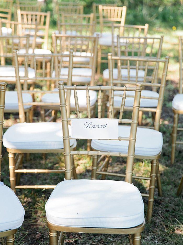 22 Chair Silverthorne Colorado Wedding A Vintage Affair Via MountainsideBride.com