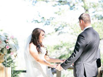 24 Groom Bride Silverthorne Colorado Wedding A Vintage Affair Via MountainsideBride.com