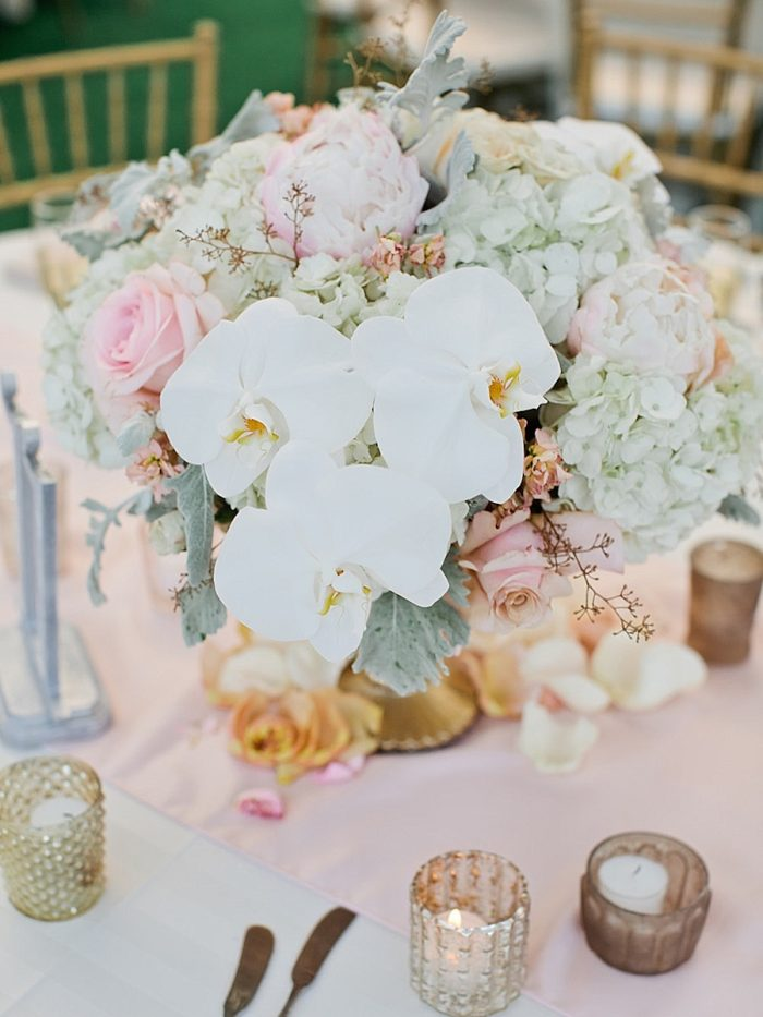 28 Close Centerpiece Silverthorne Colorado Wedding A Vintage Affair Via MountainsideBride.com