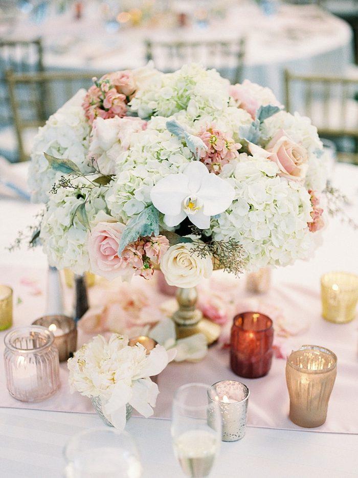 36 Centerpiece Small Silverthorne Colorado Wedding A Vintage Affair Via MountainsideBride.com
