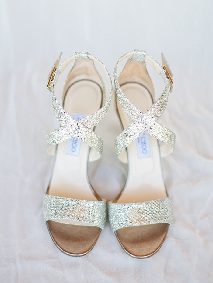 6 Shoes Bride Silverthorne Colorado Wedding A Vintage Affair Via MountainsideBride.com .