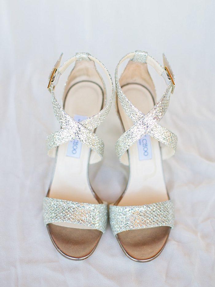 6 Shoes Bride Silverthorne Colorado Wedding A Vintage Affair Via MountainsideBride.com .