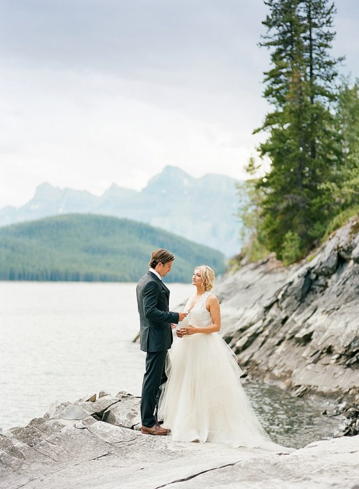 9 Banff National Park Elopement The Ganeys Via MountainsideBride.comBanff National Park Elopement The Ganeys Via MountainsideBride.com