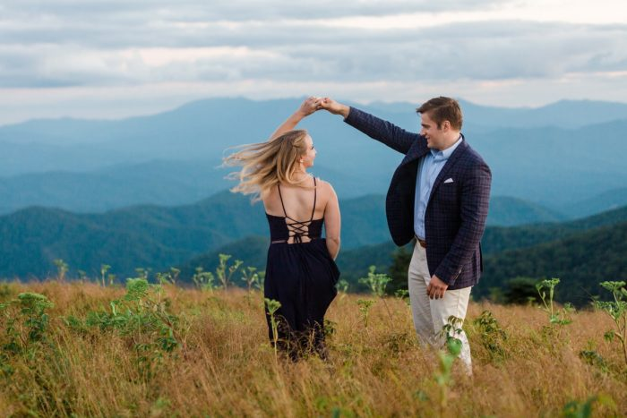 12 Roan Mountain Engagement JoPhotos Via MountainsideBride.com