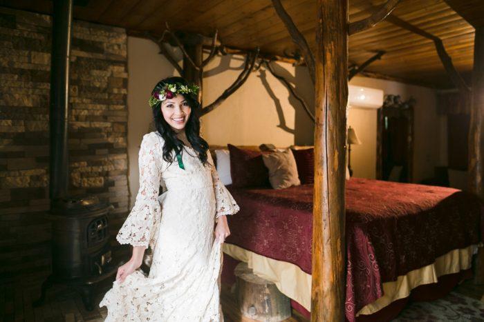 10 Big Bear Winter Wedding Inpiration Sarah Mack Photo Via MountainsideBride.com